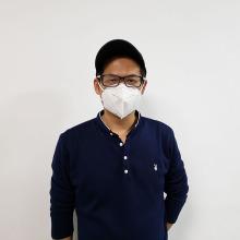 Медицинский складной респиратор одноразовый KN95 маска для лица