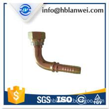 carbon steel BSP hydraulic hose fitting