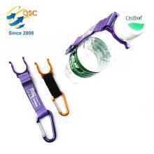 HOOK D Carabiner Water Bottle Holder Clip Strap