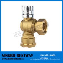 Dn15 Lockable Brass Ball Valve Manufacturer (BW-L04)