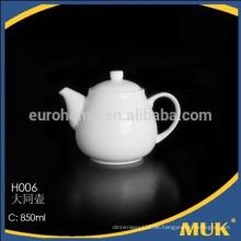 Hotel und Restaurant neue Art weiße Porzellan Kaffeekanne