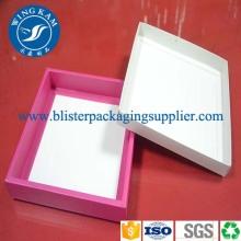 Nueva moda Variform plegable papel joyería caja de embalaje