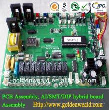 placa de circuito del proveedor de montaje pcb led luz