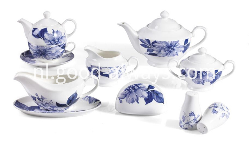 New Bone China Dinner Set
