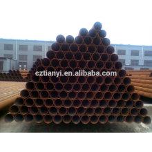 "API 5L ERW Углеродистая стальная труба 610 (24 "") x 6.4 Gr. X60 Поставщик Китая"