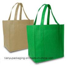 Sac de shopping en coton naturel organique de haute qualité et bon marché