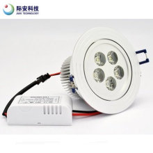 9W 220V branco LED teto Spot Light