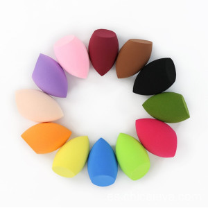 Bevel Beauty Colorful Cosmetic Blender Sponge Makeup Puff