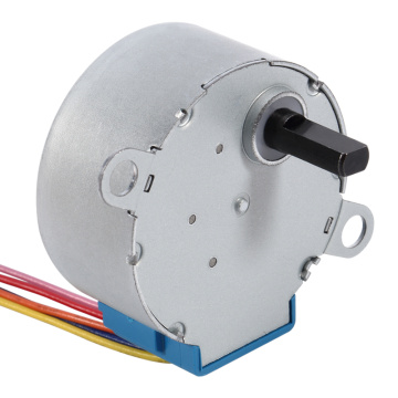 PM stepper gear motor for toy robots