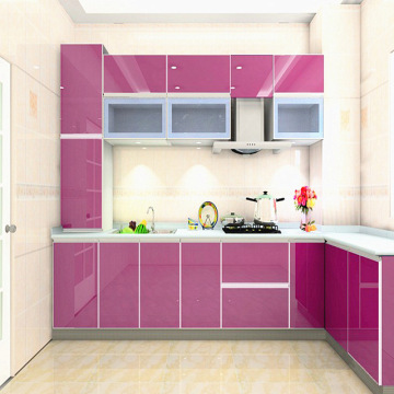 Dekorfolie PVC für Küchenschrank