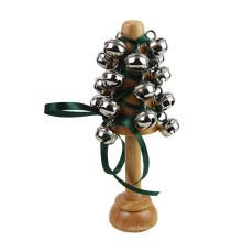 FQ marque personnalisé enfants en peluche enfant en bois bébé hochet bruit maker toy