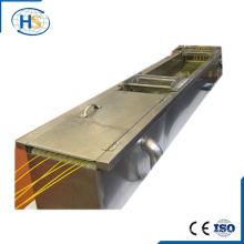 Двухвинтовая машина для экструдера с водяным баком для охлаждения пластиковых стренгов