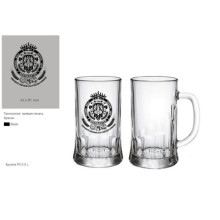 Glasbecher Bierbecher Glasbecher Bierkrug Kb-Hn03590