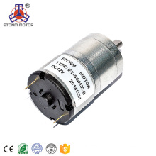 ETONM 12/24v gear motor with long shaft