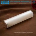ZB-PS50 50ml mignon personnalisable bonne main sentiment 50ml haute brillance nacré blanc flacon airless