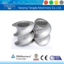 Piezas de maquinaria de alta calidad para extrusora de doble tornillo Tenda