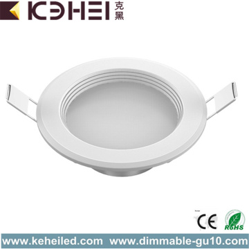5W AC Downlight Sin piloto LED de luz IP20
