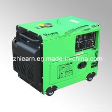 Молчком генератор 4квт с дизельным двигателем на 9 лошадиных сил (DG5500SE)