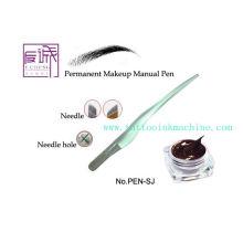 Maquillaje permanente Maquina de tatuaje manual