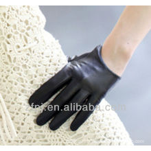 lady's short dancing leather glove