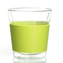 Heat-Resistant Anti-Slip Silicone Holder / Cover for Glass Cup or Mug