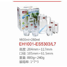 Glass Water Jug Set Dg-1380