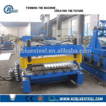 Corrugated Figure Glazed Steel Roofing Sheet Roll Forming Production LIne Made In China