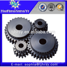 Hobbing processing cnc machining plastic/steel/ nylon spur gear