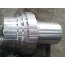 Forged spindle head for ball mill