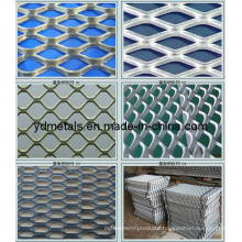 Decorative Aluminum Expanded Metal Mesh Panels (MB-001)