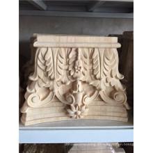Talla de madera del cnc / molduras de madera tratada / patrones de talla de madera