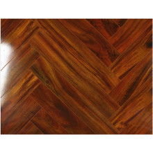 Household 12.3mm Mirror Maple Sound Absorbing Laminated Flooring