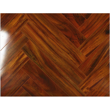 Hogar 12.3mm Espejo Arce Sound Absorbing Laminated Flooring