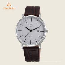 Reloj de cuero de marca de venta caliente Hombres 72335