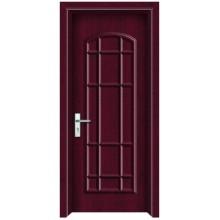 Porta de madeira do PVC