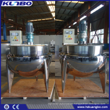 KUNBO Electric Heating Steam Kettle with Agitator Tank for Food