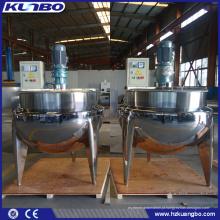 Chaleira elétrica do vapor do aquecimento de KUNBO com o tanque do agitador para o alimento
