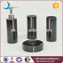 Accessoires de bain en céramique 4pcs pour douche YSb40097-01