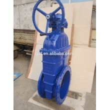 24'' ggg40 body non-rising stem resilient soft seated gate valve BS 5163