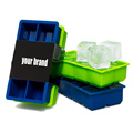 En gros réutilisable Silicone Ice Cube Trays