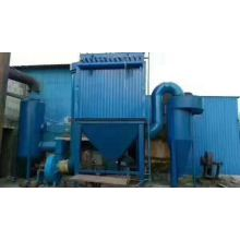Gas box pulsed dust collector
