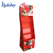 Underwear Display Cabinet , Floor Hanger Clothing Store Display Racks