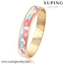51489 Xuping New Style Brass Jewelry Pulsera y brazalete de colores