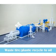 en su lugar, planta de incineración de residuos para reciclar el reciclaje de llantas de desecho para producir aceite combustible