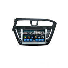 Quad core dvd player for car,wifi,BT,mirror link,DVR,SWC for Hyundai I20