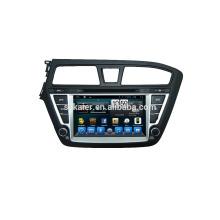 Четырехъядерных процессоров DVD-плеер для автомобиля,беспроводной,БТ,зеркальная связь,видеорегистратор,МЖК для Хундай i20
