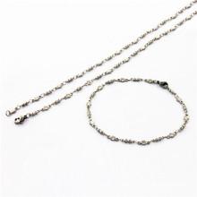 Moda jóias de aço inoxidável conjuntos