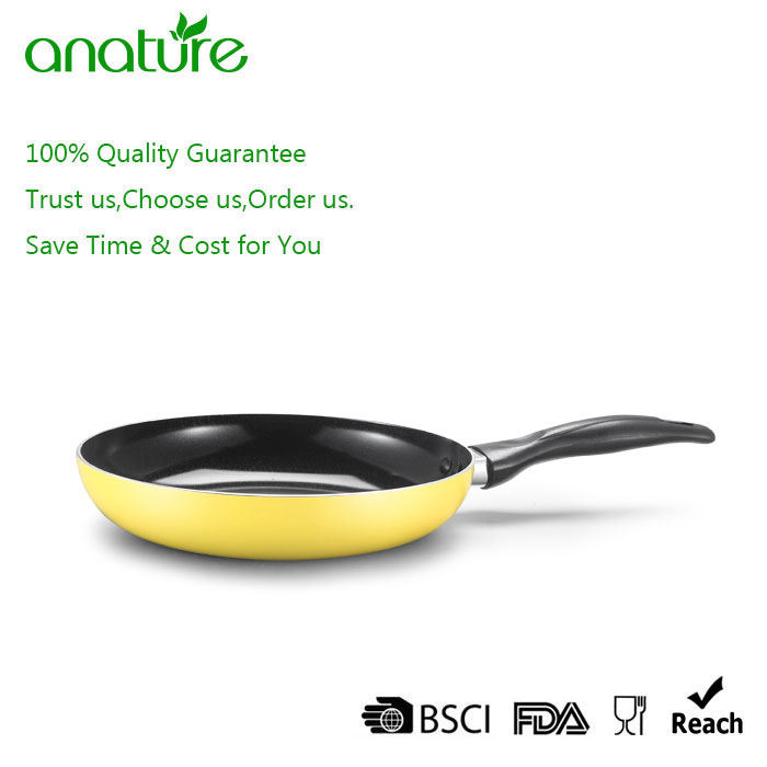 Energy Saving 5pcs Pressed Nonstick Cookware Set