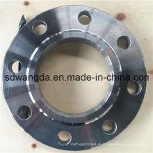 Deslizamiento de brida de tubo en soldadura 16 kg / Cm2 JIS B2220-1984-Sop / Bl / Soh