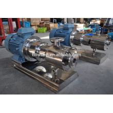 high shear multistage high pressure mixing emulsion pump